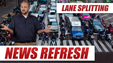 lane splitting is legal in california but is it safe blog image