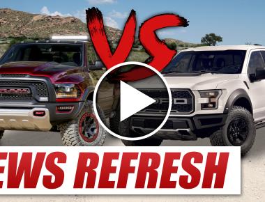 Ram Rebel TRX vs 2017 Ford Raptor blog image